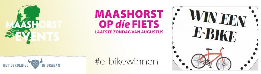 e-bikewinnen met fietstocht