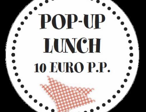 RESERVEER NU: de pop-up lunch