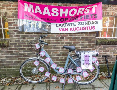 Maashorst Op díe Fiets 2018 Winnaars bekend.
