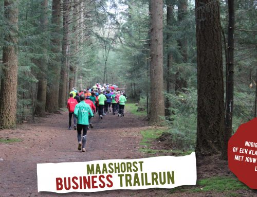 Sportief met collega's en/of relaties tijdens Business Trailrun