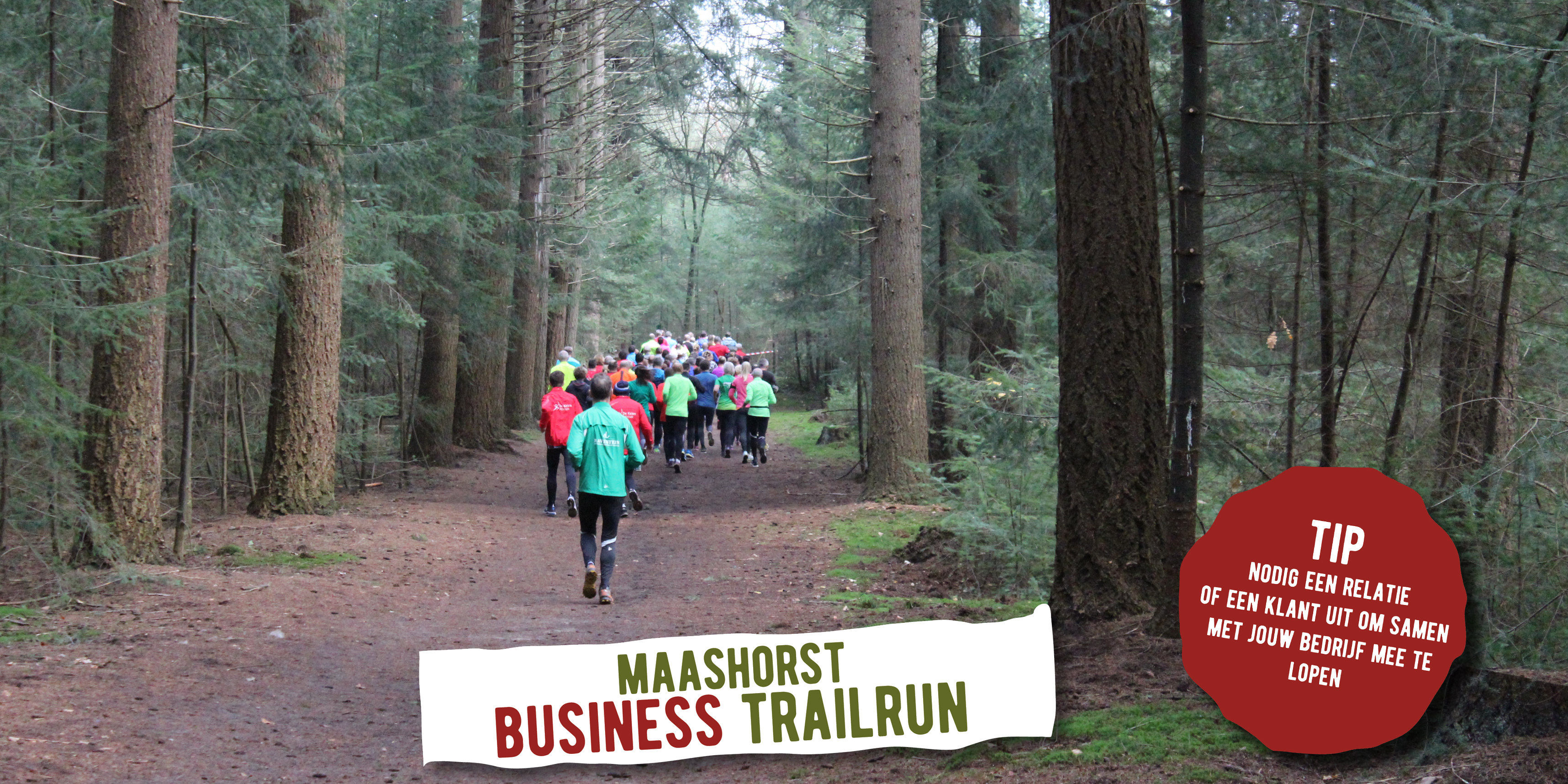 Banner nieuws Business run