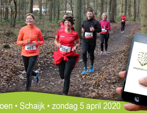 Save the date! 5 april voor Maashorst Trailrun