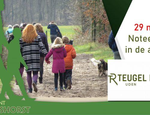 Walking Event De Maashorst start bij Teugel Resort Uden