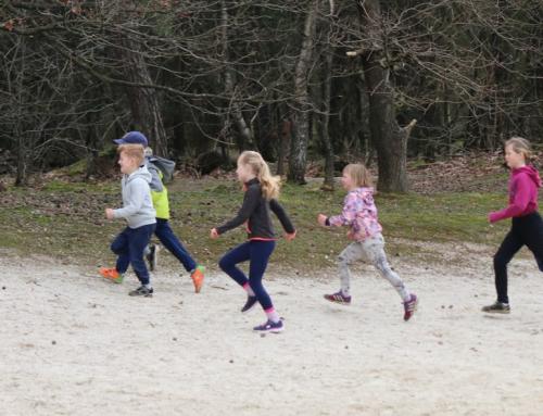 Geslaagde Trailrun training voor kids